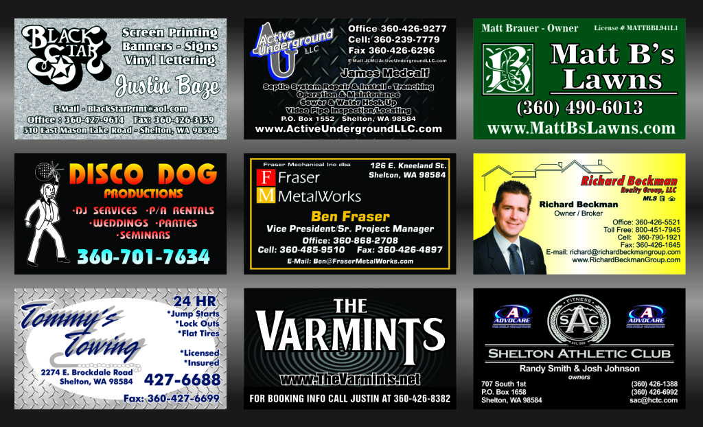 Business Card Samples