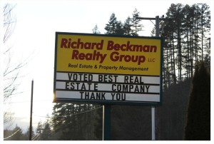 Richard Beckman Realty Group Sign