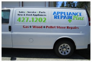 Appliance Repair Plus Van