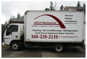 Arch Mechanical Box Truck