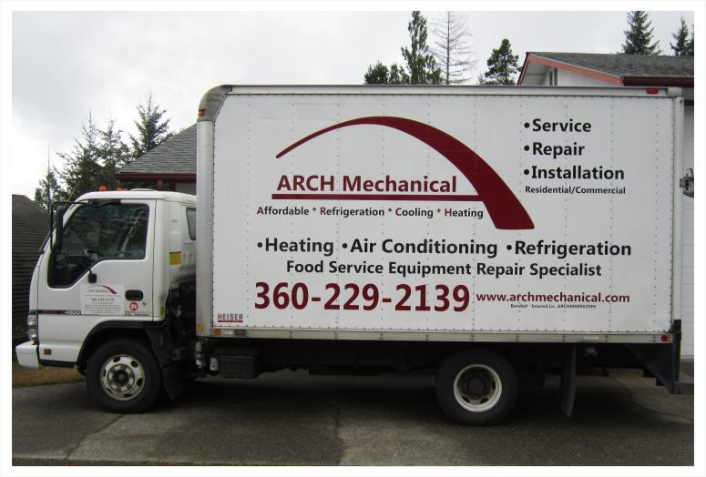 Arch Mechanical Box Truck
