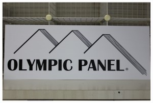 Olympic Panel Sign